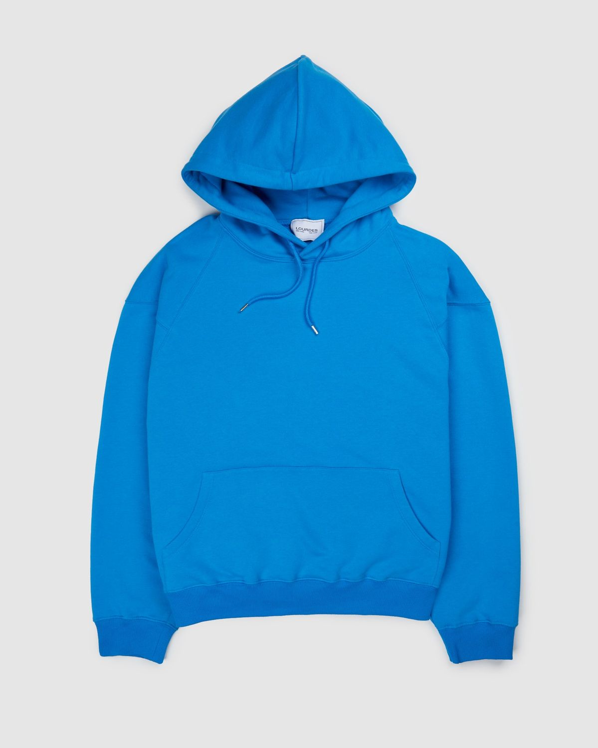 Lourdes NYC — Fawn Hoodie Blue - Image 2