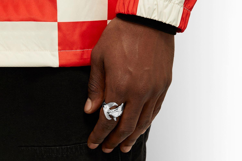 Tuna Sterling Silver Ring