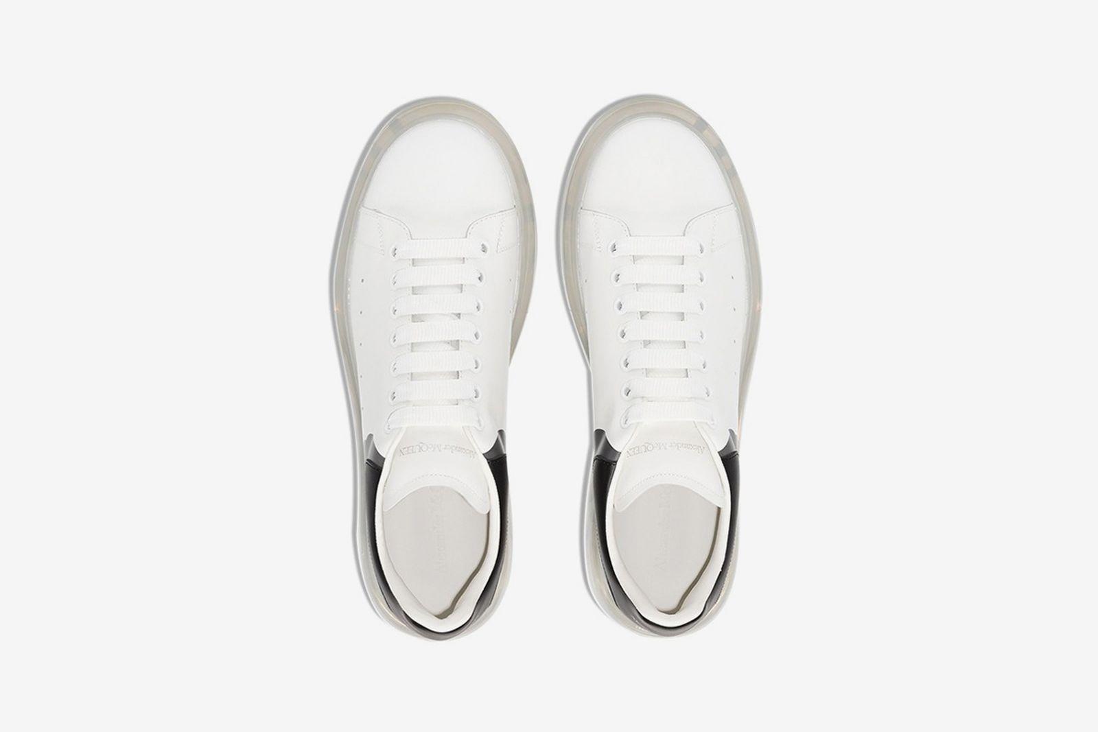 Alexander McQueen White 3D Oversized Sneaker