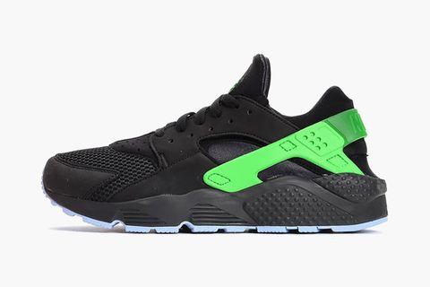 """the best attitude 55d81 fe688 Nike Air Huarache Run FB """"Black Poison Green"""""""