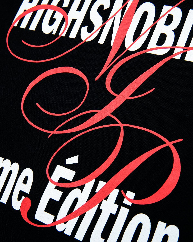 Highsnobiety — Not In Paris 3 Kiss T-Shirt Black - Image 4