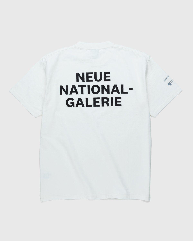 Highsnobiety x Neue National Galerie – T-Shirt White - Image 2
