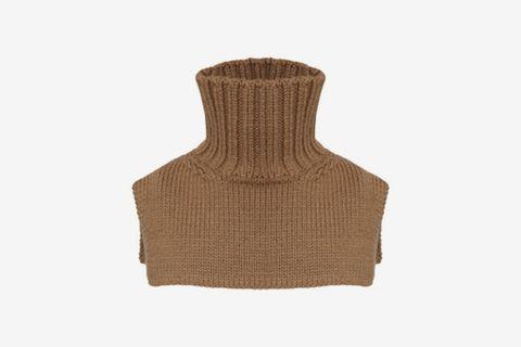 Wool Turtleneck Collar