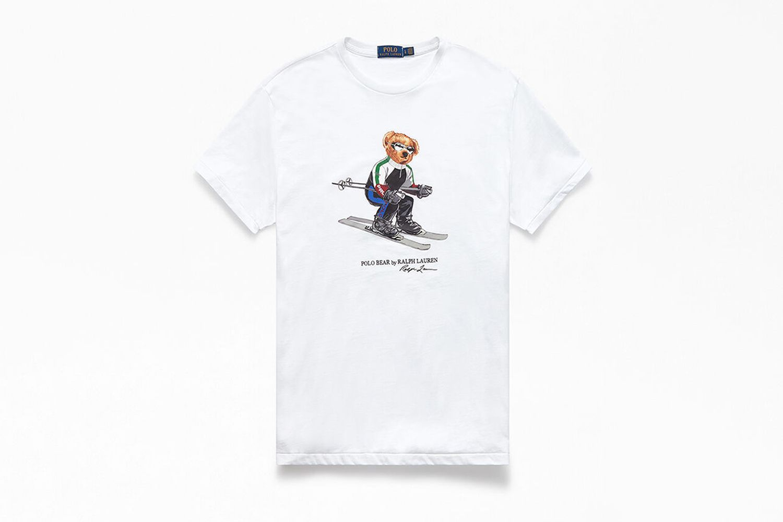 Skiing Bear T-Shirt