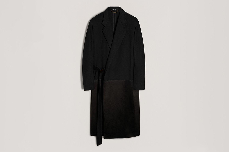 Cashmere Wool Kimono Coat