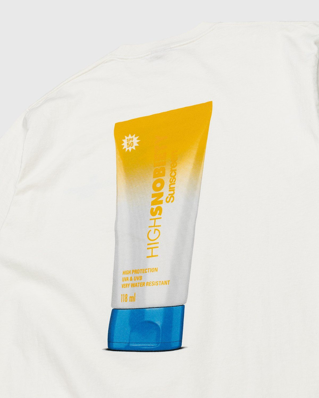 Highsnobiety – Sunscreen T-Shirt White - Image 3