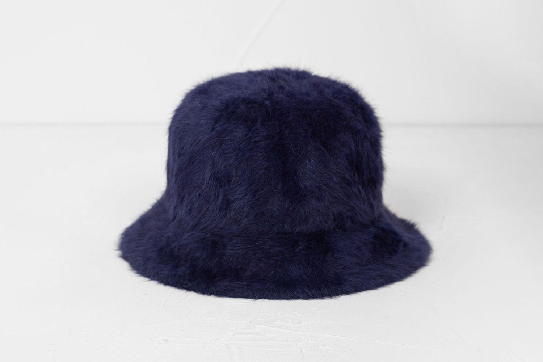 Hello Angora Bucket Hat