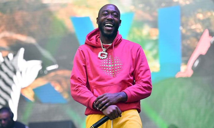 Freddie Gibbs performs onstage during the Adult Swim Festival