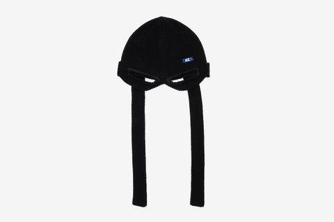 Logo Ninja Shaped Wool Blend Beanie