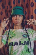 aa2f9c24b The Internet Has Fallen in Love With Nigeria s World Cup Kit