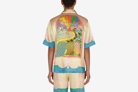 Lucid Dreams Silk Shirt