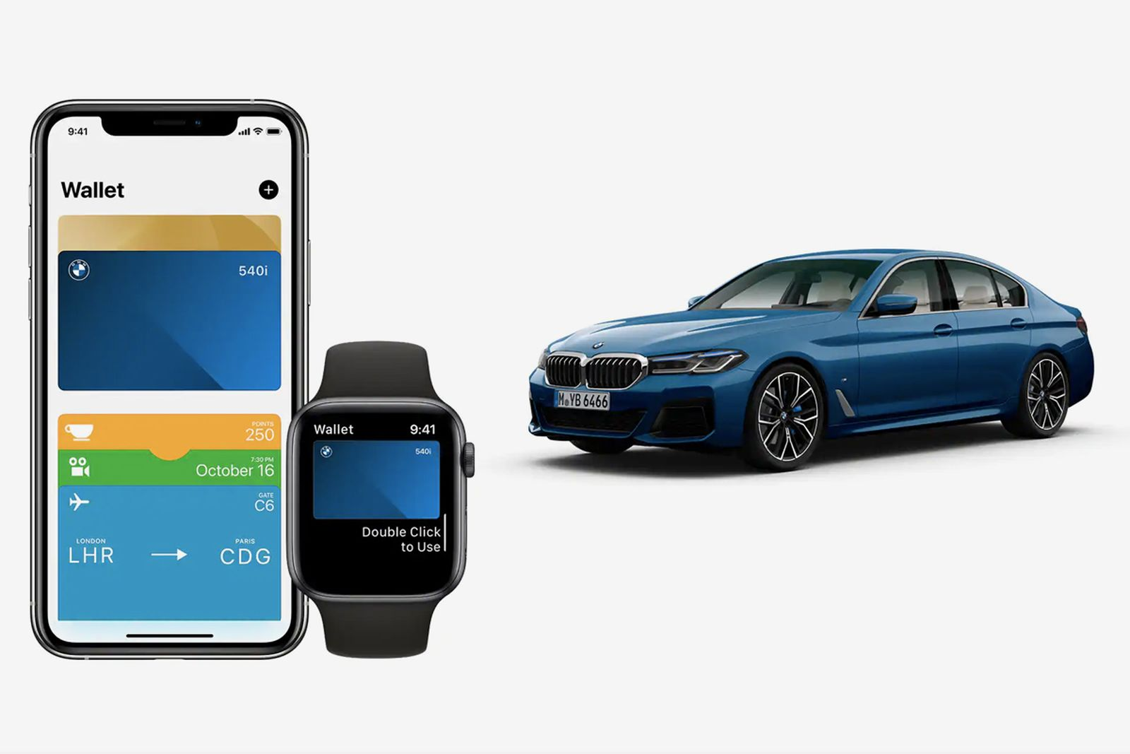 BMW, iPhone and Apple Watch