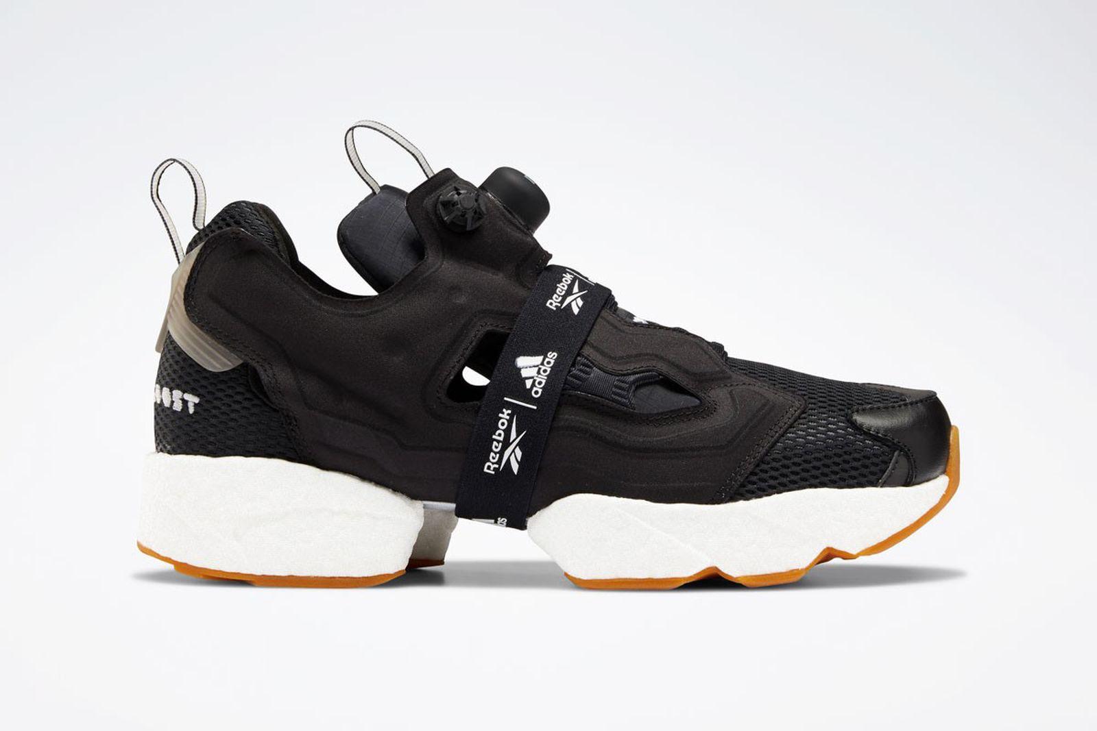 "Reebok x adidas Instapump Fury Boost ""Black & White"" Pack"