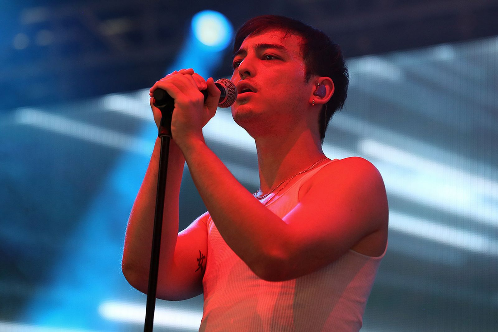Joji performs live on the BBC Radio 1 Stage during day one of Reading Festival