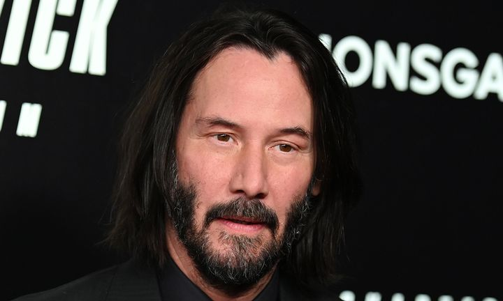 Keanu Reeves John Wick premiere