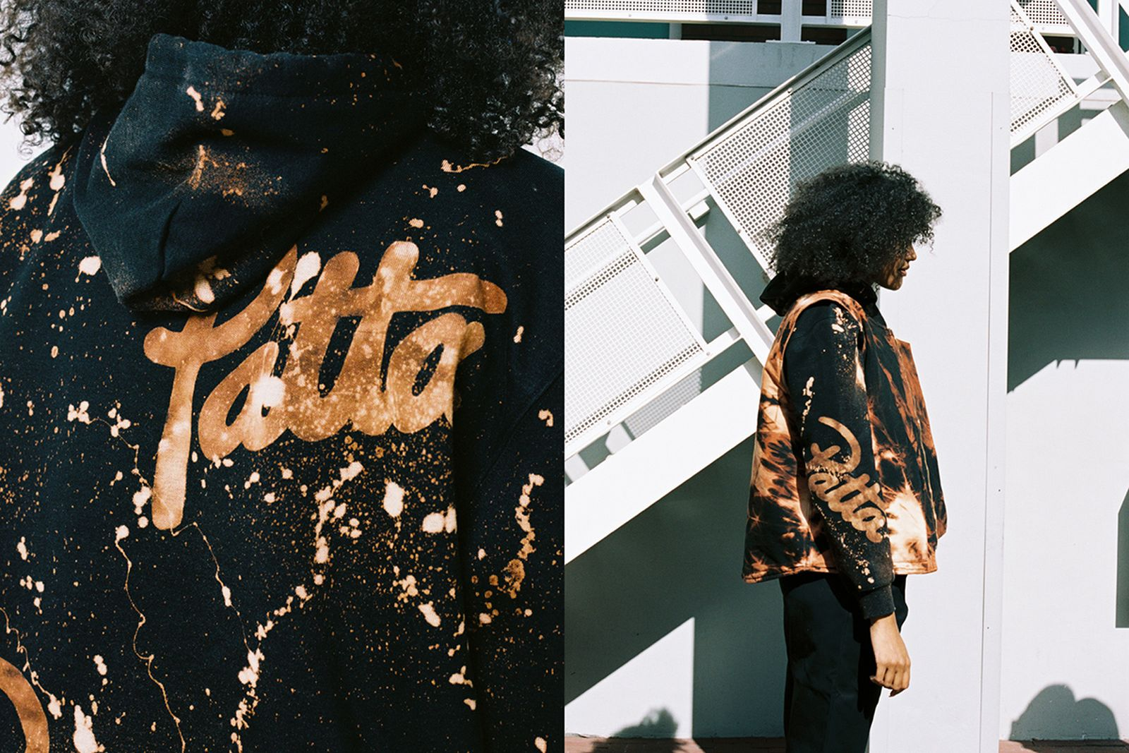 Patta Carhartt WIP hand dyed collection