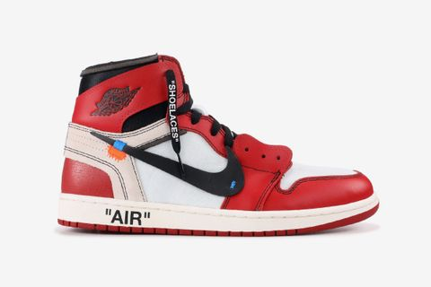 "separation shoes d198f 3b03a OFF-WHITE x Nike Air Jordan 1 ""Chicago"""