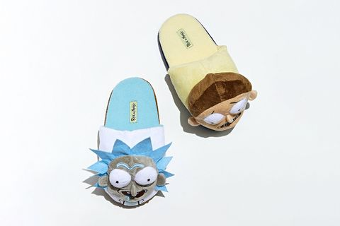 Rick And Morty Plush Slipper