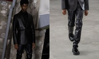 ALYX's Leather Trousers Could Signal a Street Goth Revival