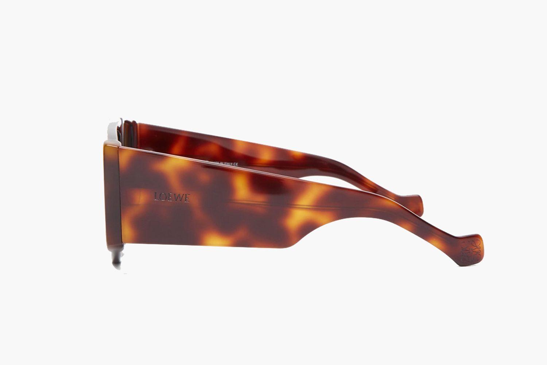 Flat-Top Acetate Sunglasses