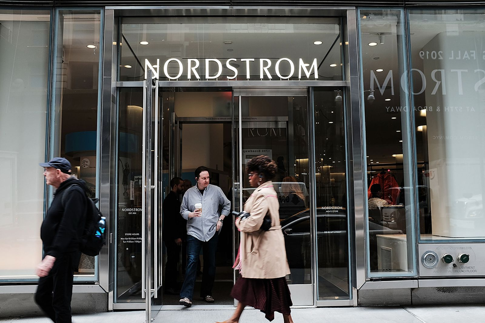 Nordstrom store sign