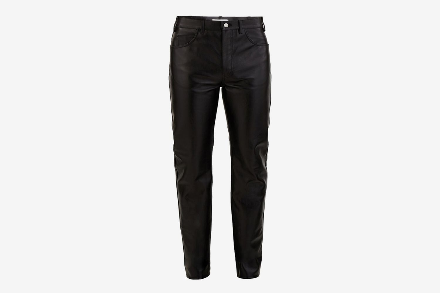Soft Lambskin Leather Trousers