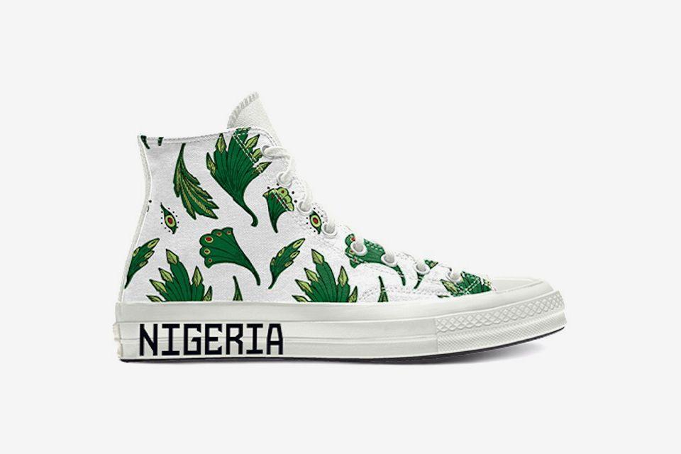 Converse Just Dropped Naija Chucks Inspired by Nigeria's Football Jersey 7