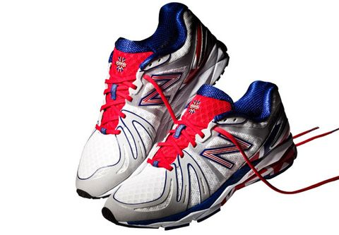 online store d936d 50223 ... New Balance presents the limited edition 890  The British Miler . The  technical running shoe features a white upper, yet distinct British flag  color ...
