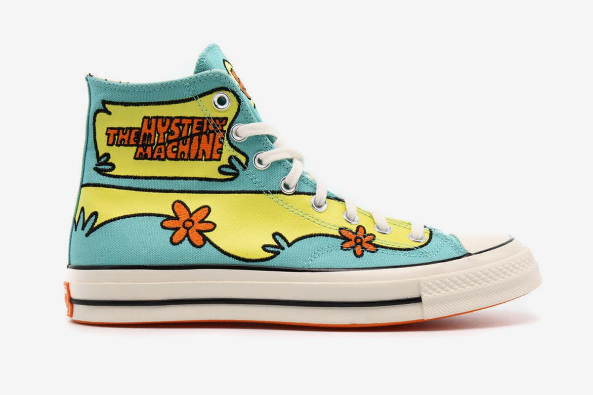 Scooby Doo's Iconic Mystery Machine Makes it Onto the Chuck '70 Hi 9
