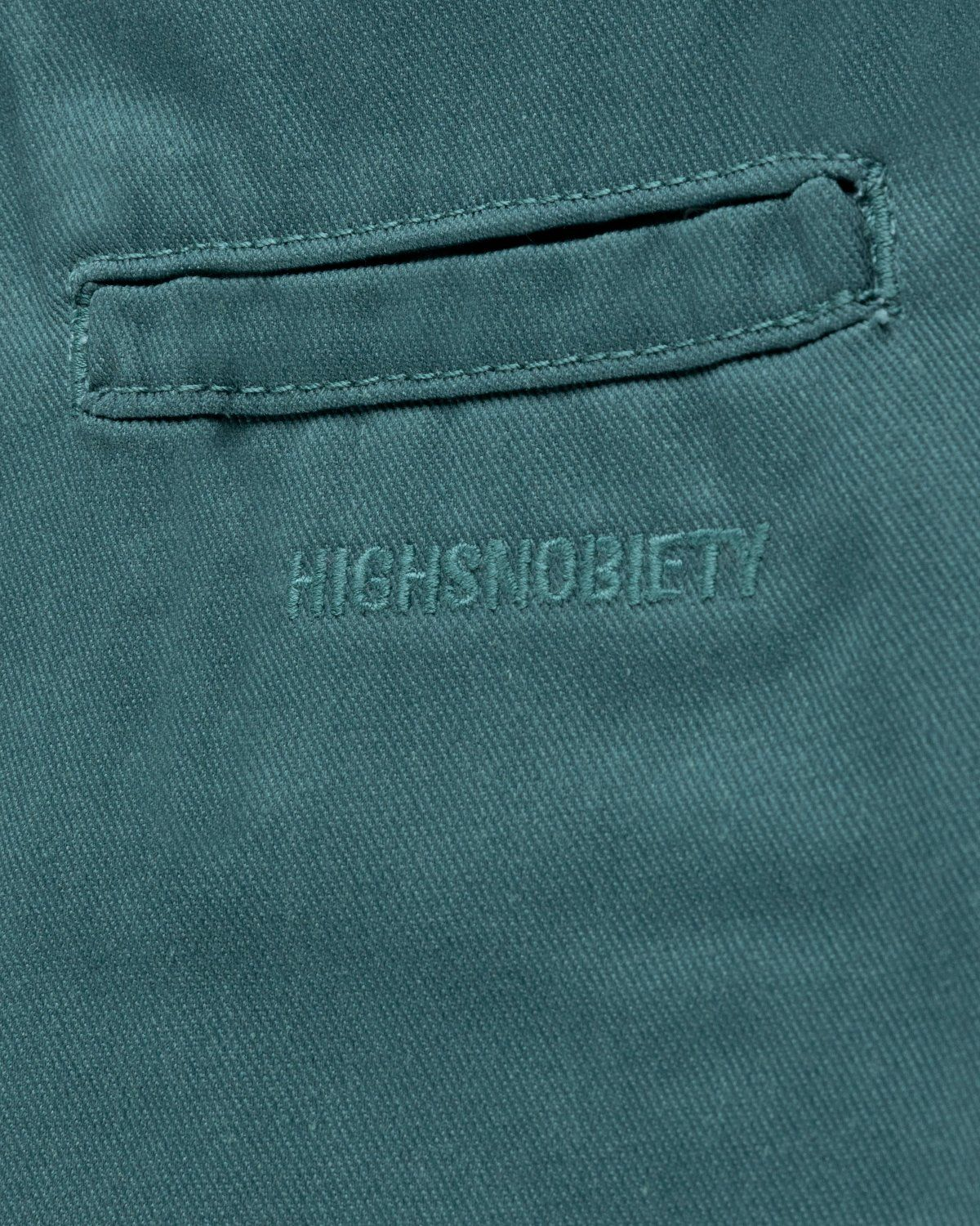 Highsnobiety x Dickies – Pleated Work Pants Lincoln Green - Image 4