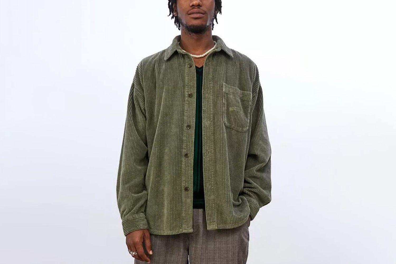 Jumbo Corduroy Shirt