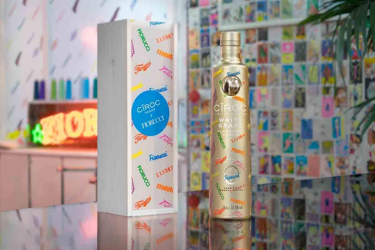 Italian Label Fiorucci Link up With CÎROC Vodka & Bespoke Bottle Designer INKD