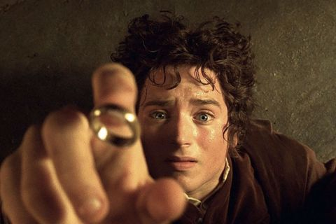 Lord of the Rings Frodo catching ring