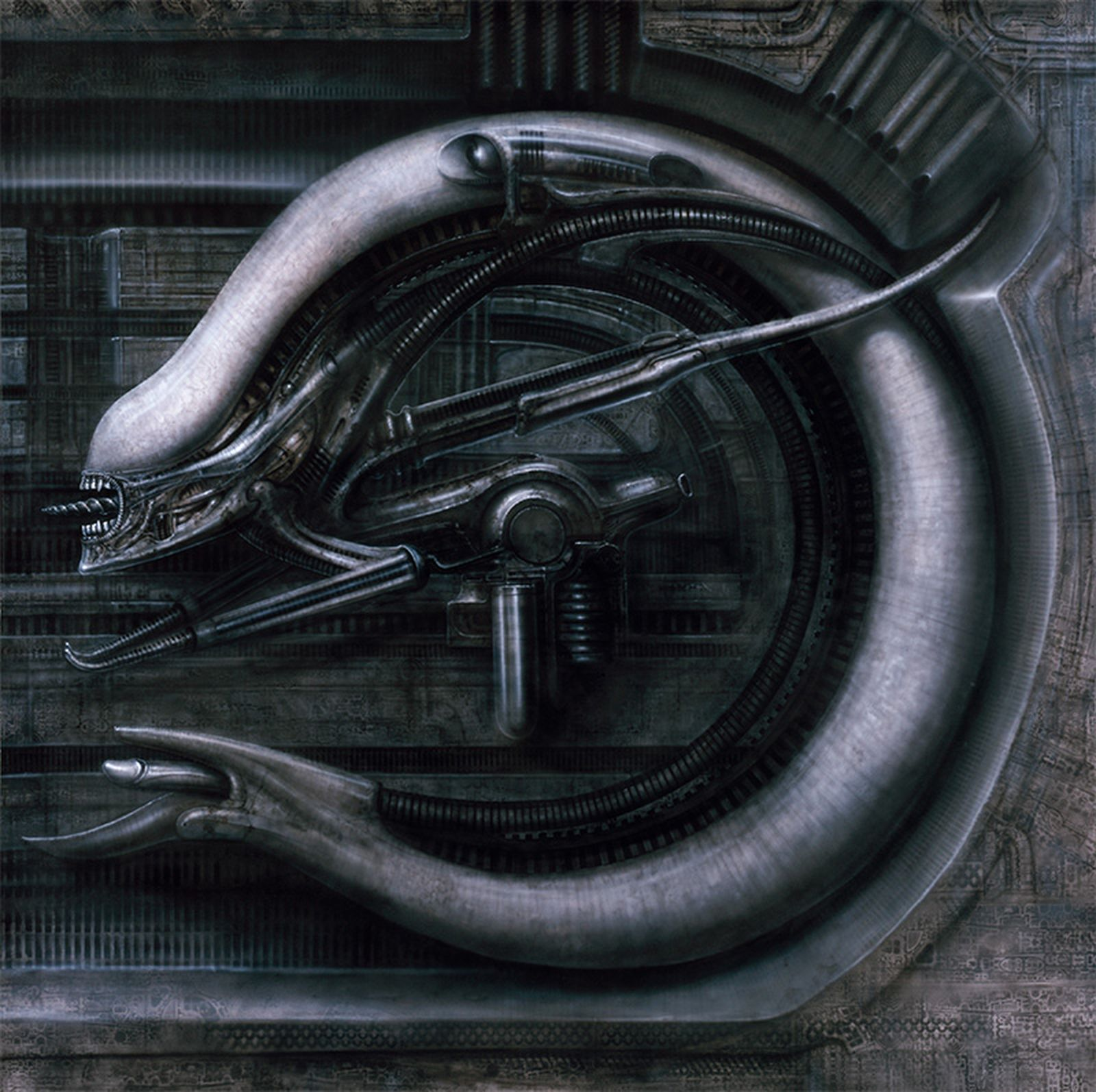 HR Giger, Alienmonster V, 1978