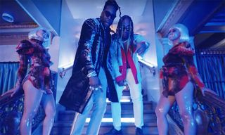 """2 Chainz & Ty Dolla $ign Hit the Trap Salon in """"Girl's Best Friend"""" Video"""