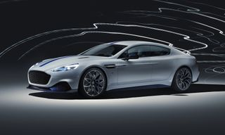 Auto Icon Aston Martin Debuts Its First Electric Car