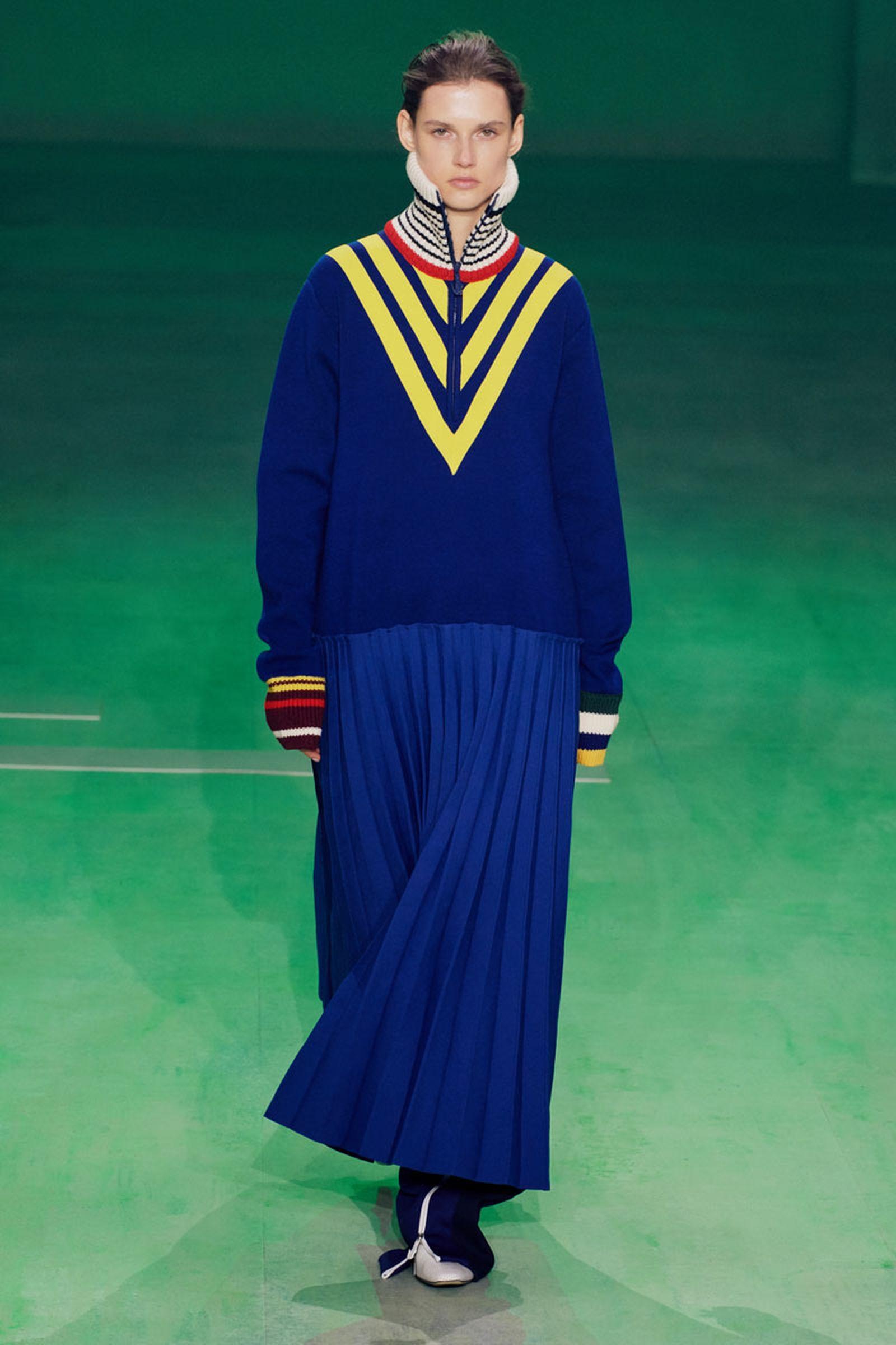 65lascoste fw19 paris fashion week Louise Trotter lacoste runway