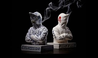 NEIGHBORHOOD & BAPE Finally Unveil Shark Hoodie Incense Chambers