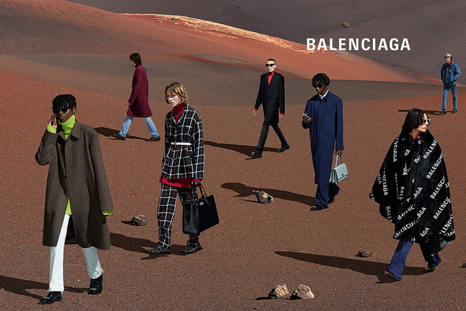 balenciaga fall 2019 campaign
