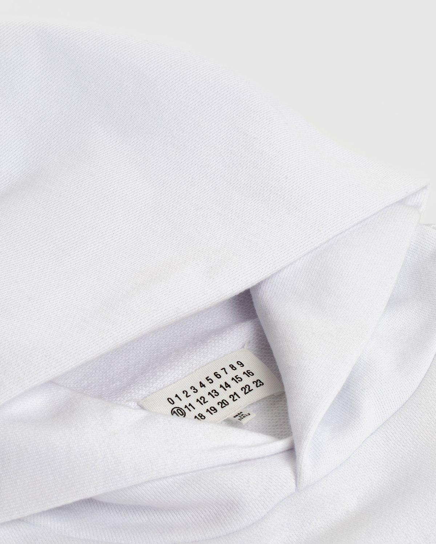 Maison Margiela Highsnobiety Hoodie White - Image 6