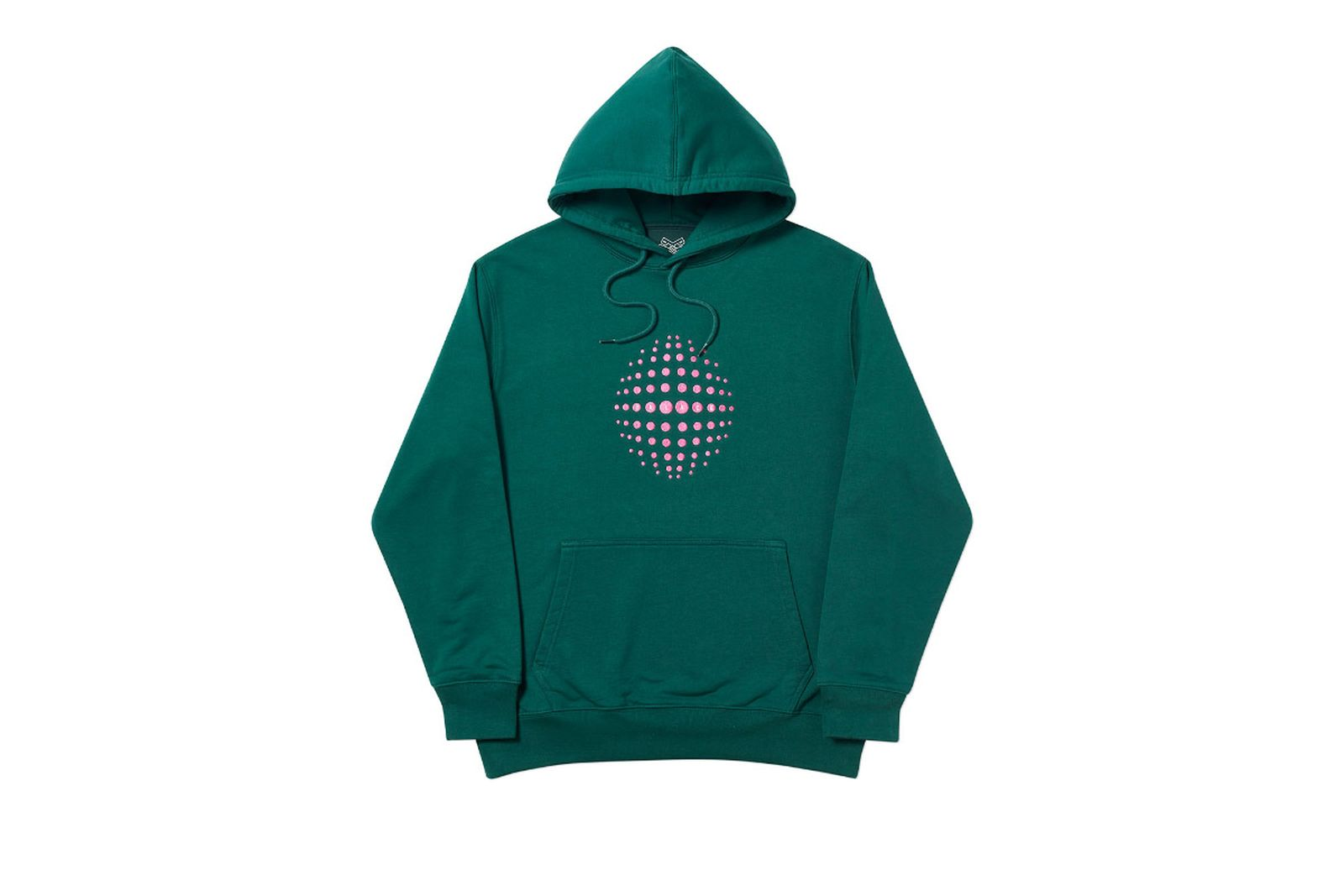 Palace 2019 Autumn Hoodie Sphere green front