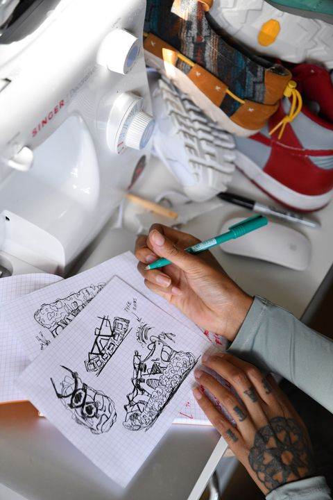 Asha Harper Is the Coolest Sneaker Designer You'll Ever Meet 30