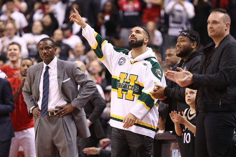 newest d15bf 5a6dd Drake Got Trolled by Michael Jordan s Son for Wearing adidas