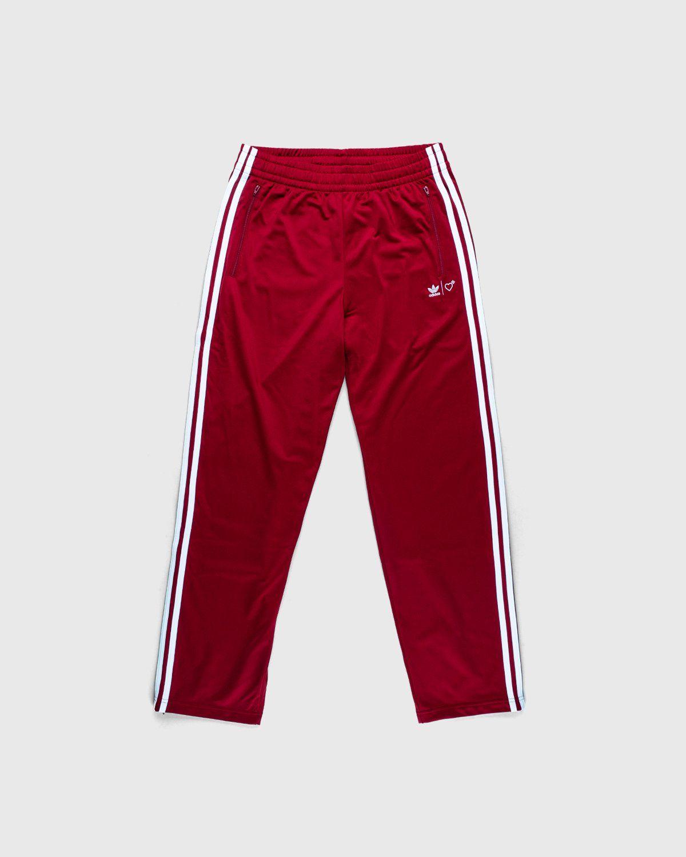 adidas Originals x Human Made — Firebird Track Pants Burgundy - Image 1