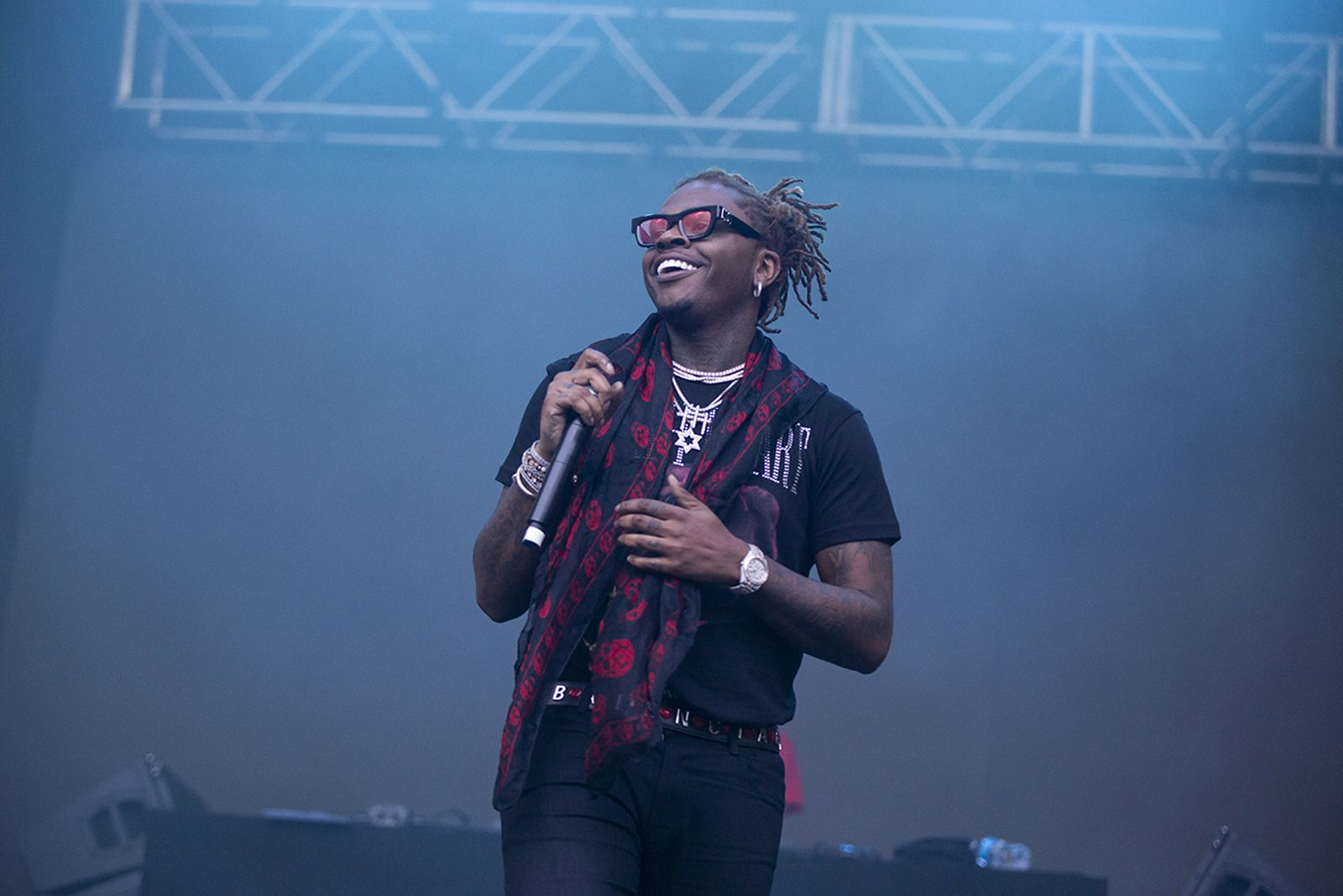 Gunna performs at Lollapalooza in Chicago
