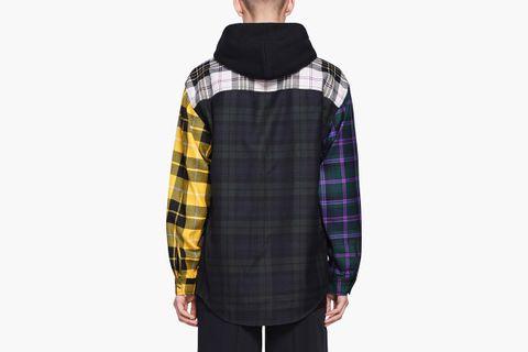 Multi Plaid Overshirt
