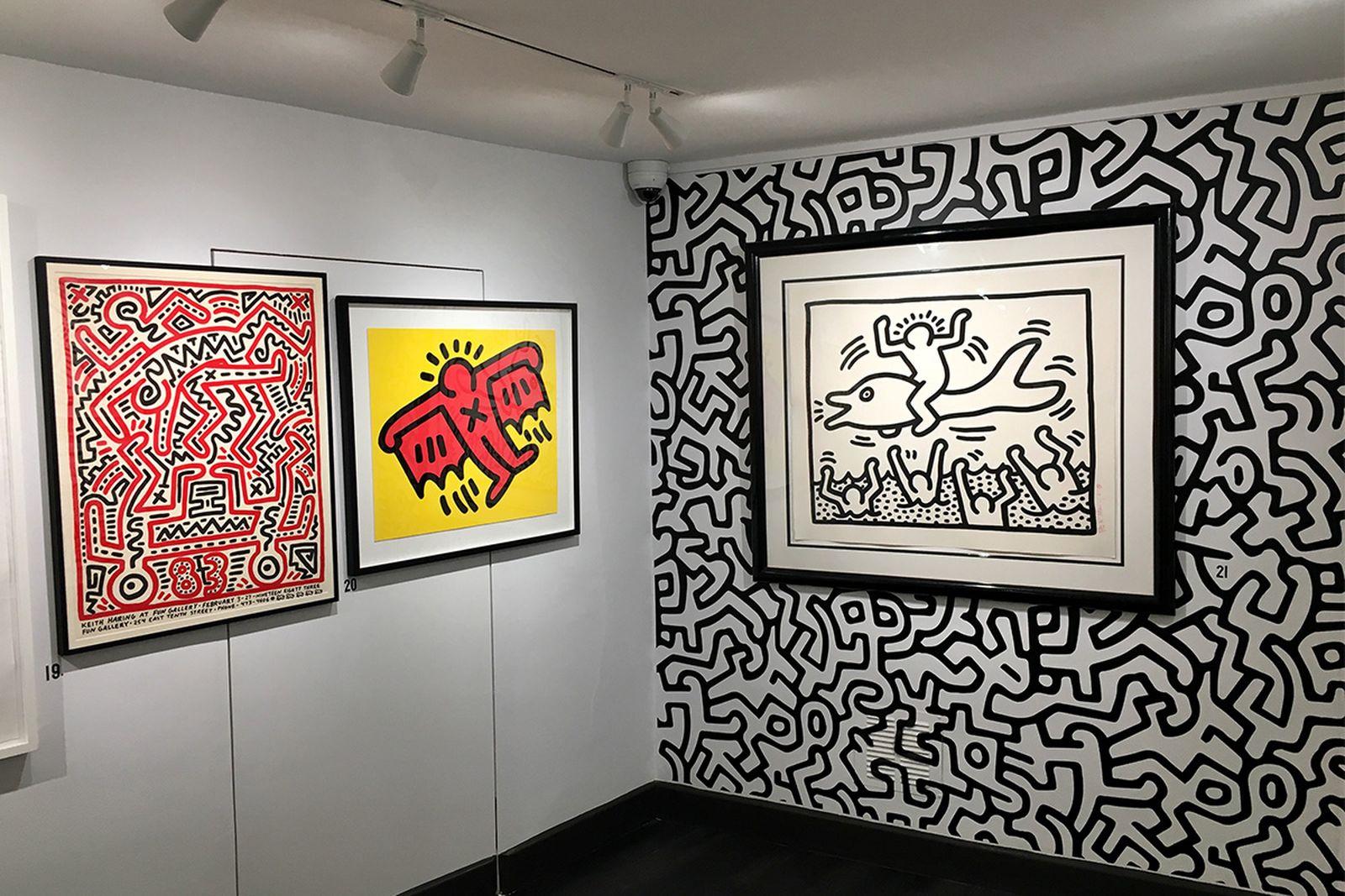 keith haring icon rhodes contemporary art