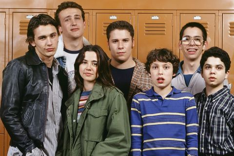 freaks and geeks legacy 90s tv Seth Rogen james franco