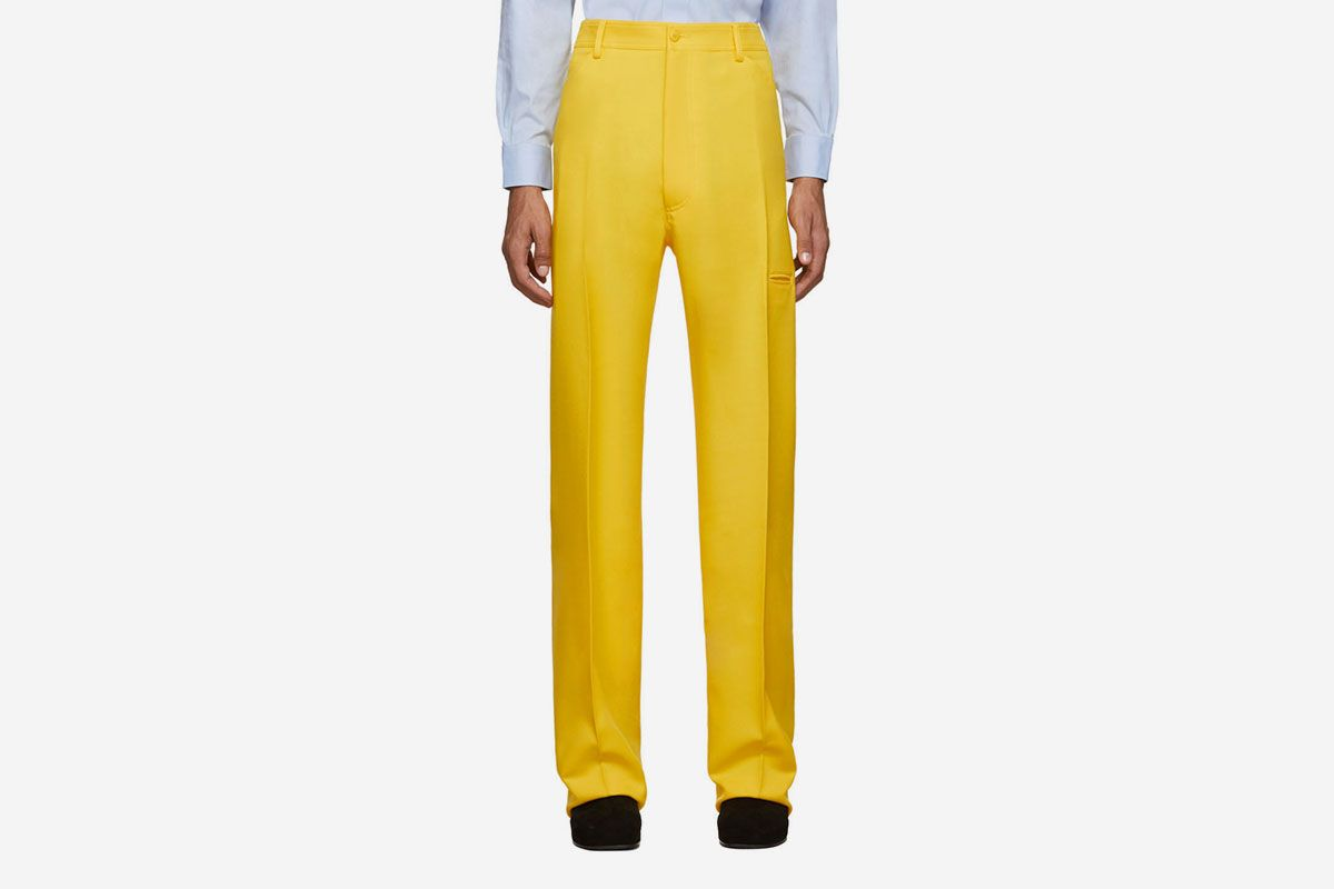 High-Rise Five-Pocket Trousers