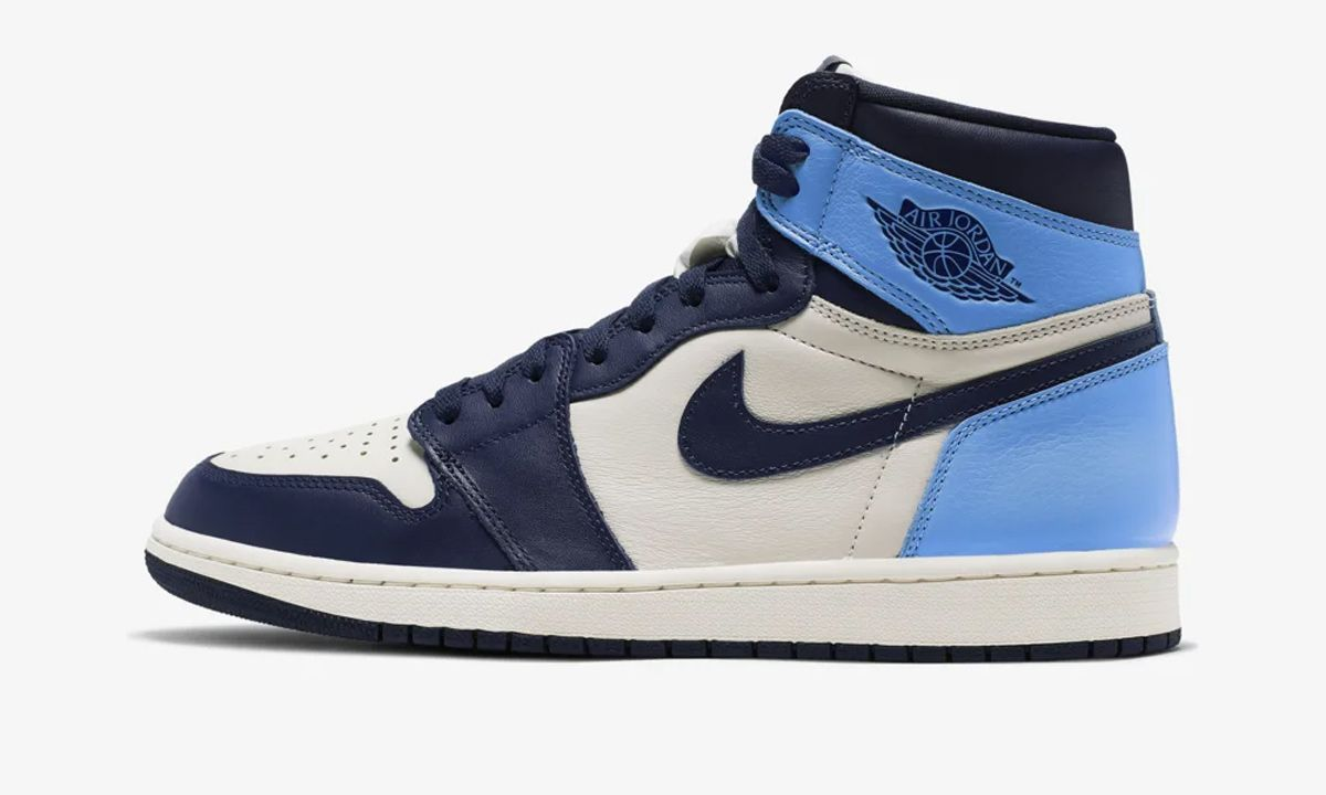air jordan 1 obsidian stock